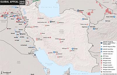 iranian refugee camps